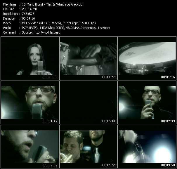 Mario Biondi video screenshot