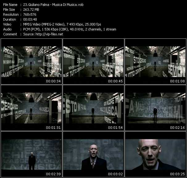 Giuliano Palma video screenshot