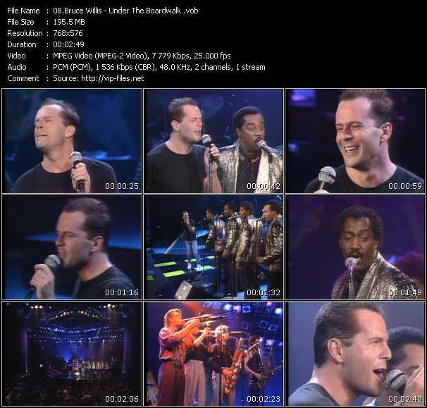Bruce Willis video screenshot