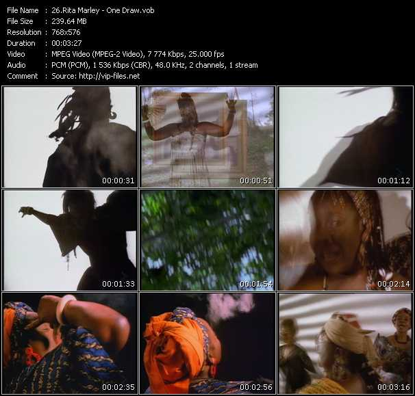 Rita Marley video screenshot