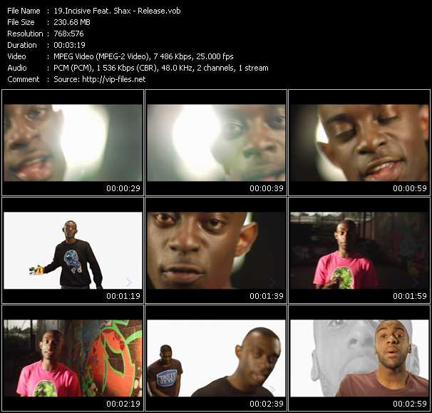 Incisive Feat. Shax video screenshot