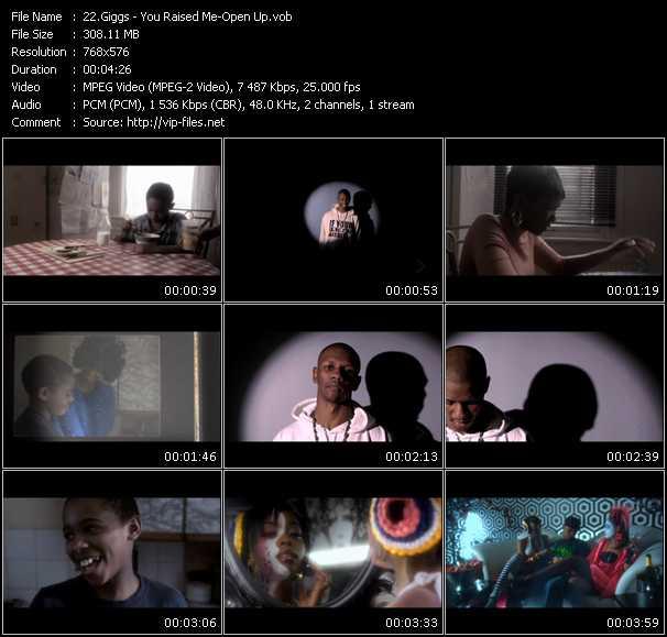 Giggs video screenshot