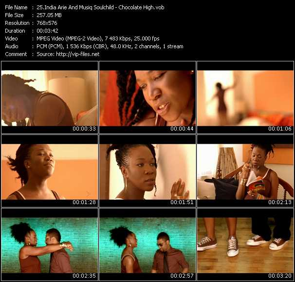 India.Arie Feat. Musiq Soulchild video screenshot