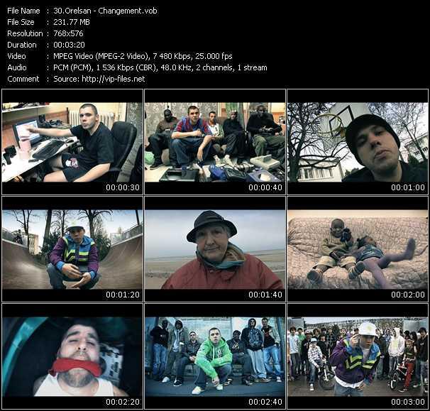 Orelsan video screenshot