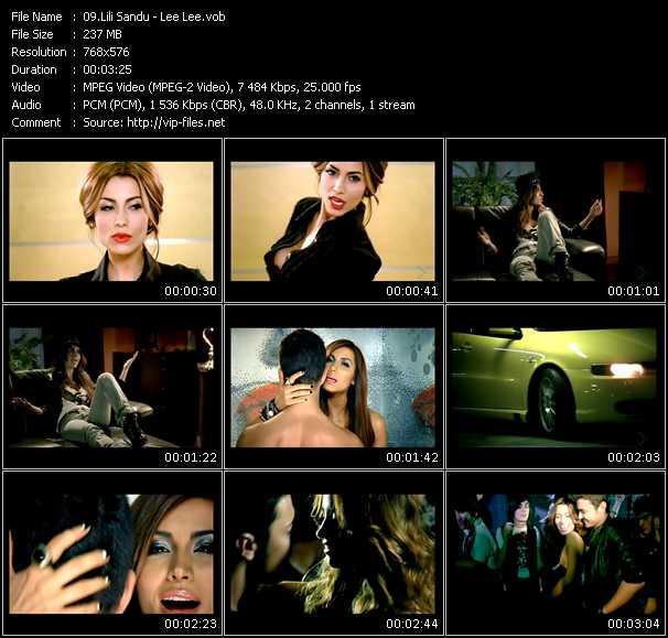 Lili Sandu video screenshot