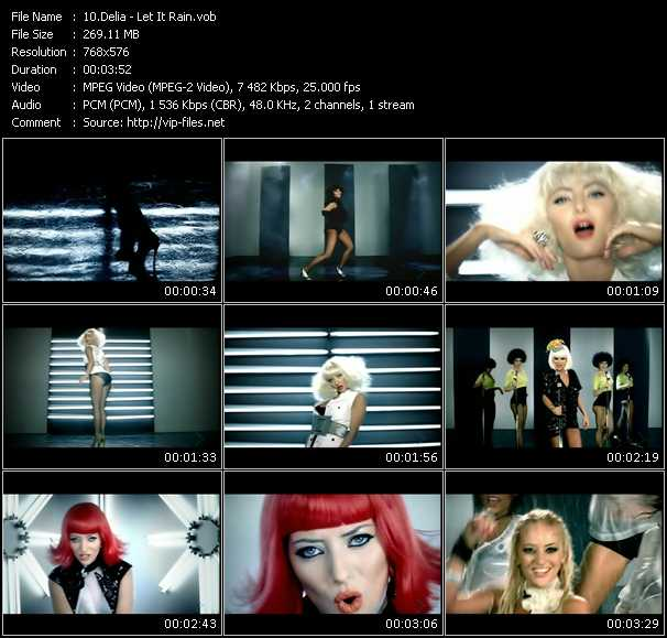 Delia video screenshot