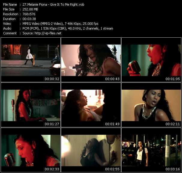 Melanie Fiona video screenshot