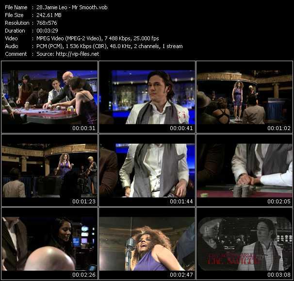 Jamie Leo video screenshot