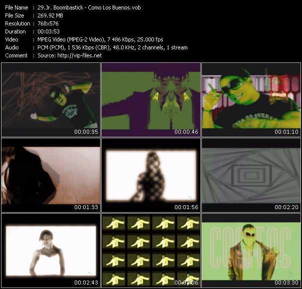 Jr. Boombastick video screenshot