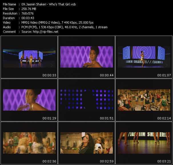 Jasmin Shakeri video screenshot