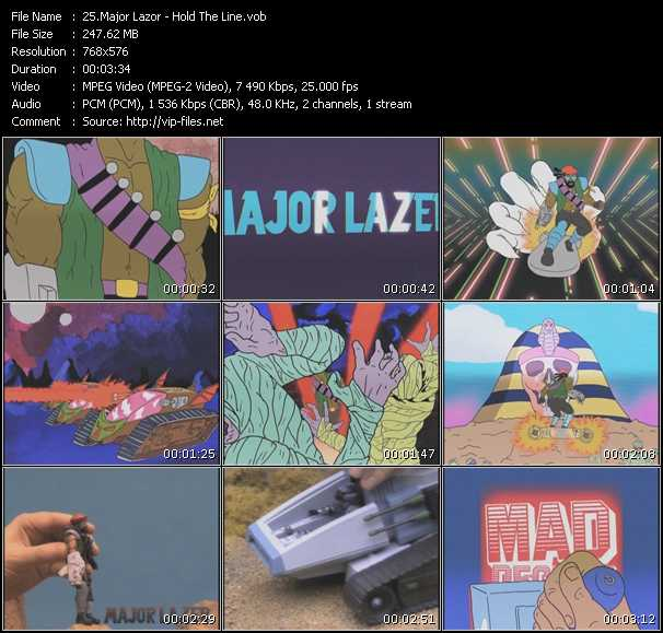 Major Lazor video screenshot