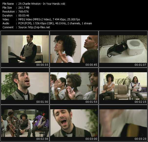 Charlie Winston video screenshot