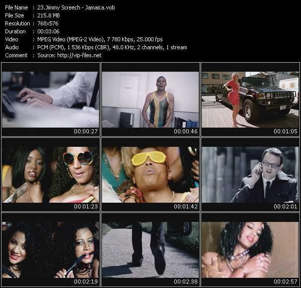 Jimmy Screech video screenshot