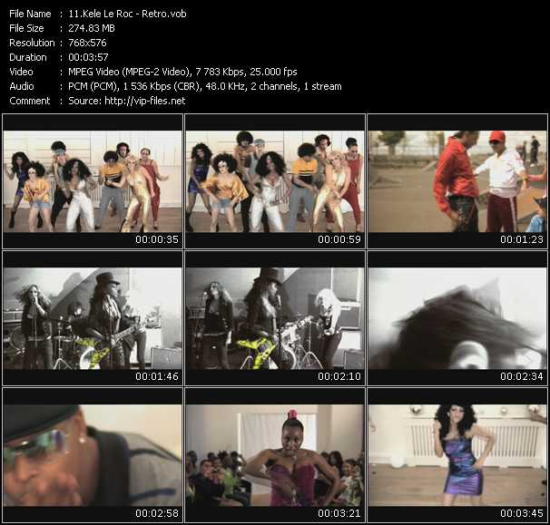 Kele Le Roc video screenshot