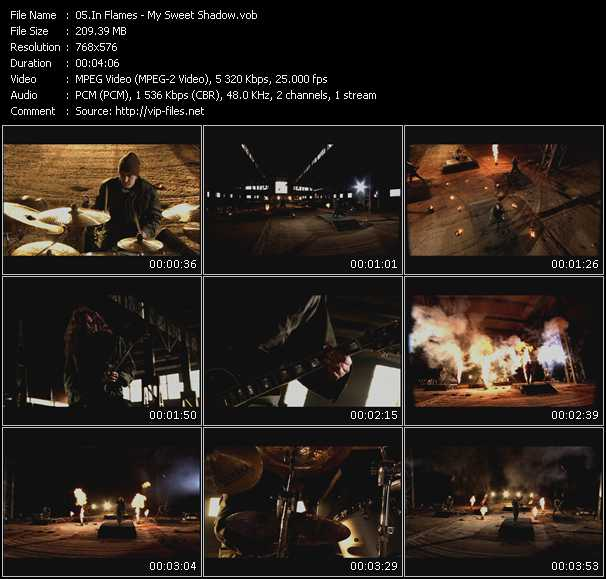 In Flames video screenshot