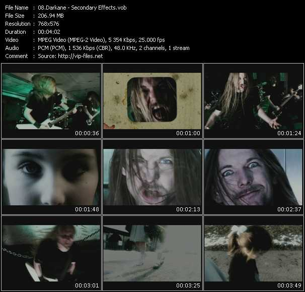 Darkane video screenshot
