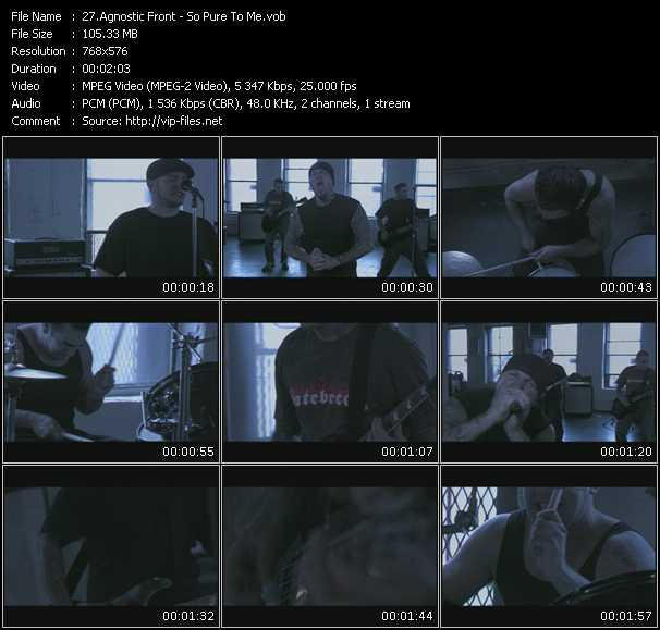 Agnostic Front video screenshot