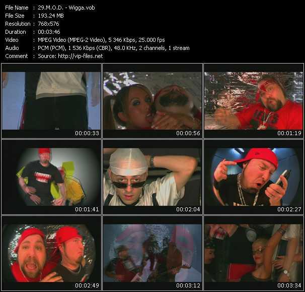M.O.D. video screenshot