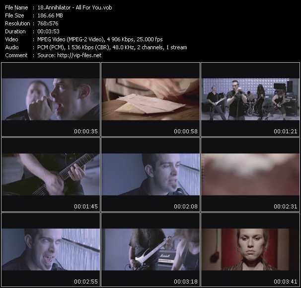 Annihilator video screenshot