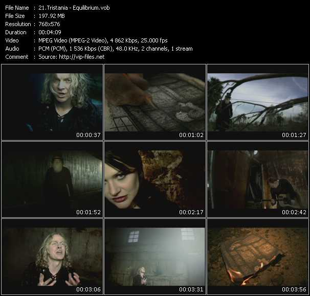 Tristania video screenshot