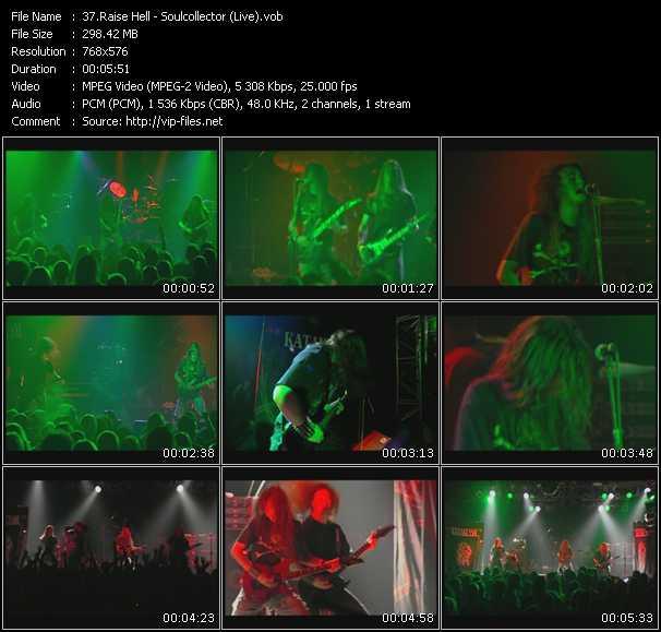 Raise Hell video screenshot