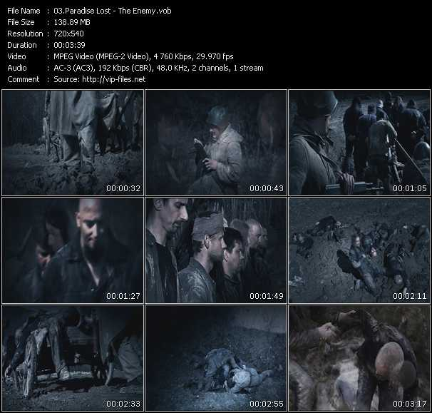 Paradise Lost video screenshot