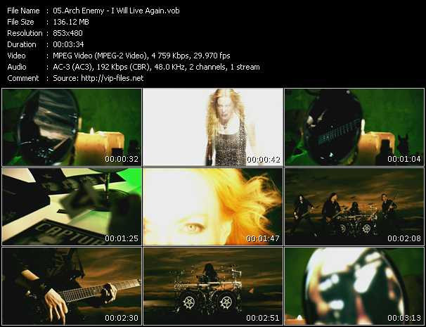 Arch Enemy video screenshot