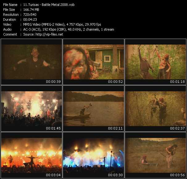 Turisas video screenshot