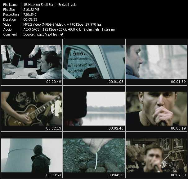 Heaven Shall Burn video screenshot