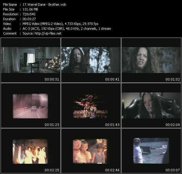 Warrel Dane video screenshot