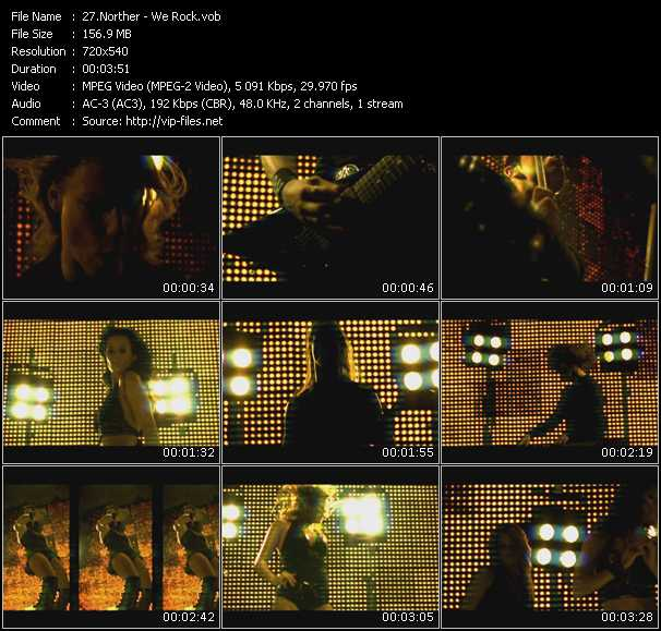 Norther video screenshot