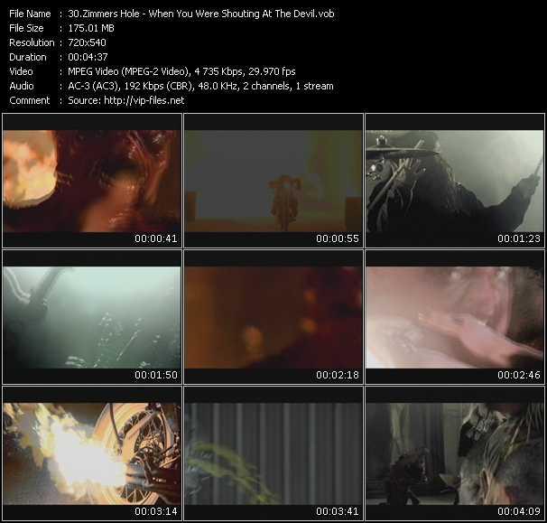 Zimmers Hole video screenshot