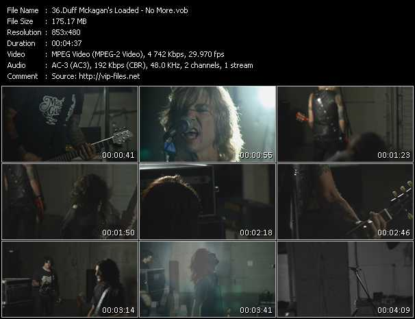 Duff Mckagan's Loaded video screenshot