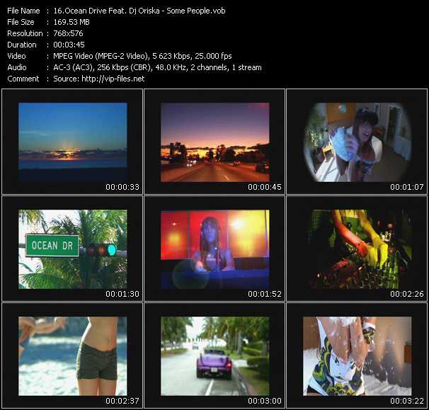 Ocean Drive Feat. Dj Oriska video screenshot