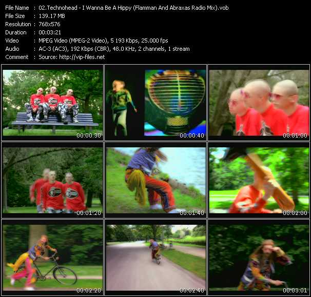 Technohead video screenshot
