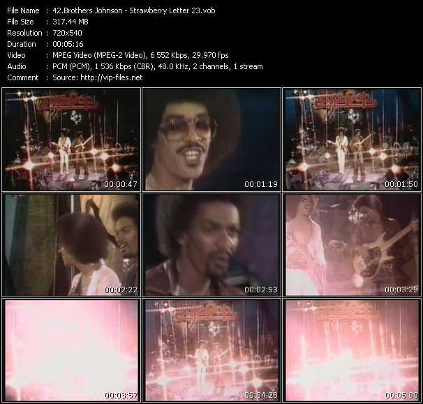 Brothers Johnson video screenshot
