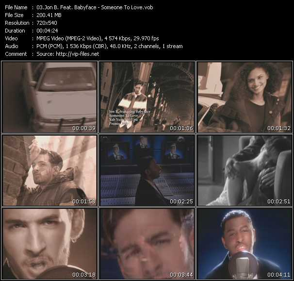 Jon B. Feat. Babyface video screenshot