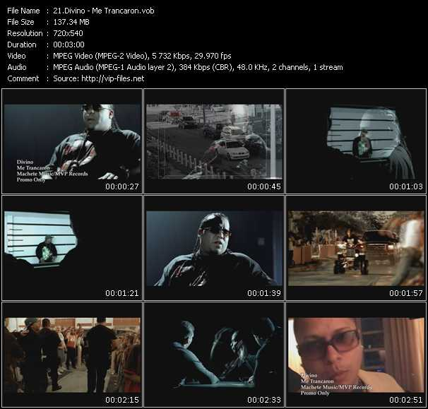 Divino video screenshot
