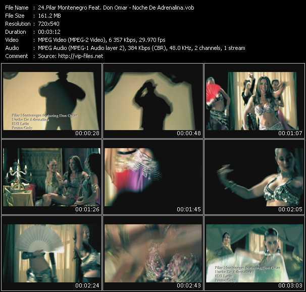 Pilar Montenegro Feat. Don Omar video screenshot