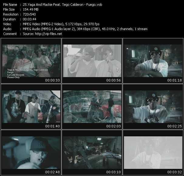 Yaga And Mackie Feat. Tego Calderon video screenshot