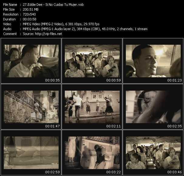 Eddie Dee video screenshot