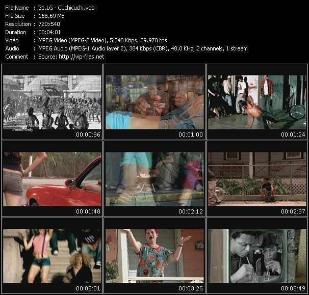 Lg video screenshot