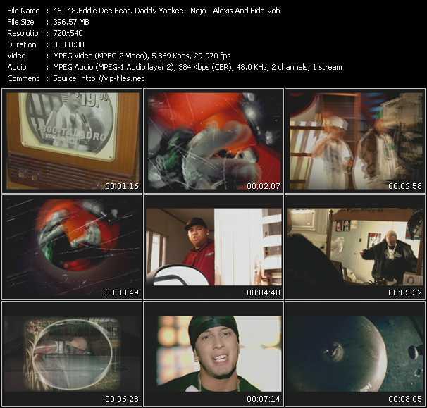Eddie Dee Feat. Daddy Yankee - Nejo - Alexis And Fido video screenshot