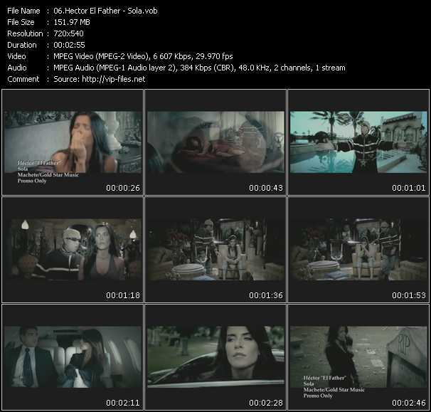 video Sola screen