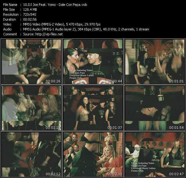 Dj Joe Feat. Yomo video screenshot