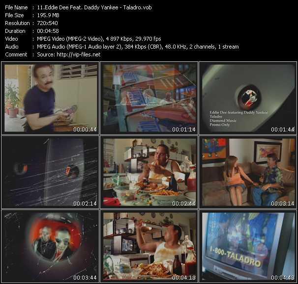 Eddie Dee Feat. Daddy Yankee video screenshot