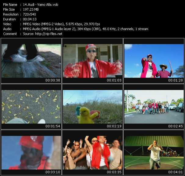 Audi video screenshot