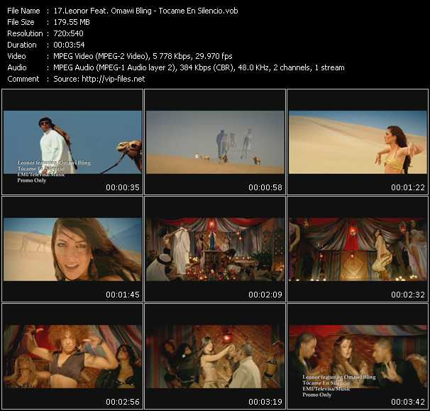 Leonor Feat. Omawi Bling video screenshot