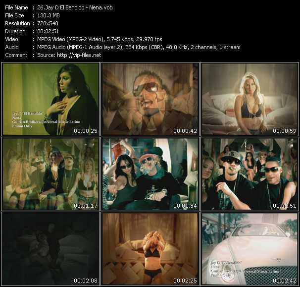 Jay D El Bandido video screenshot
