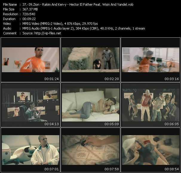 Zion - Rakim And Ken-y - Hector El Father Feat. Wisin And Yandel video screenshot